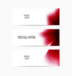 Special-offer-red vector