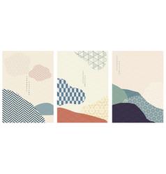 abstract arts background art art landscape vector image