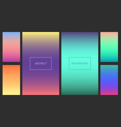 abstract vibrant gradients for ui background vector image