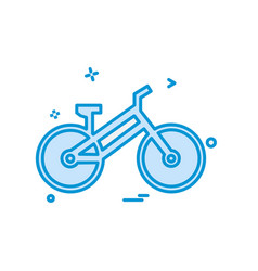 cycle icon design vector image