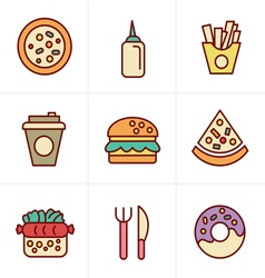 Draw icons 3x3 00075 vector