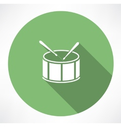 Drum Icon vector