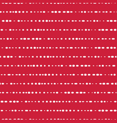 Horizontal lines seamless background red vector