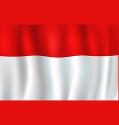 Indonesia flag asian republic national symbol vector