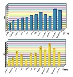 Infographics tools set vector image