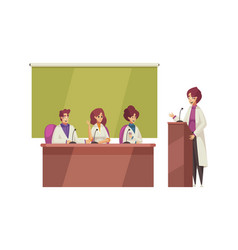 Medical conference vector