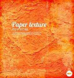 Orange Paper Textured Background vector