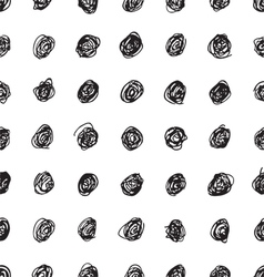 Seamless texture with dots vector