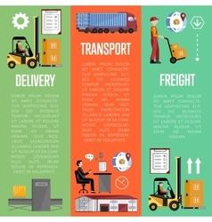 Shipment on warehouse infographics vector