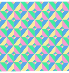 Triangle Symmetry Vintage Pattern vector image