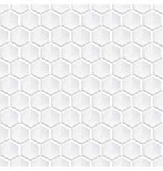 White decorative geometric texture vector