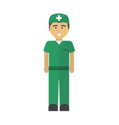 hospital doctor icon image vector image vector image