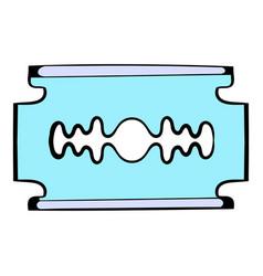 razor blade icon icon cartoon vector image vector image