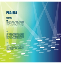 Background template with copy space vector image vector image