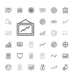 33 marketing icons vector