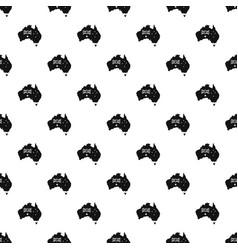 Australia pattern vector
