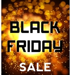 Black friday sale background explosion vector