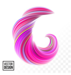 Color paint background abstract 3d wave vector
