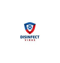 Creative disinfect virus and antibacterial vector