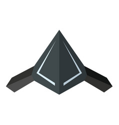 drone icon in flat style vector image