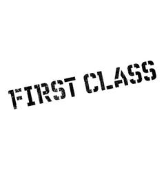 First class stamp vector