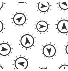 global navigation icon seamless pattern vector image
