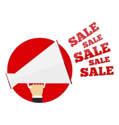 Sale promotion concept vector