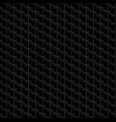seamless pattern of the triangle net vector image vector image