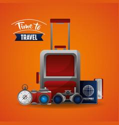 travel around the word vector image