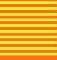 yellow and orange stripes seamless pattern vector image