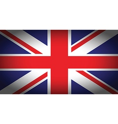 uk faded flag vector image