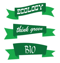 think green color vector image vector image