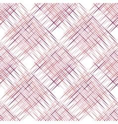 Diagonal plaid pattern vector image