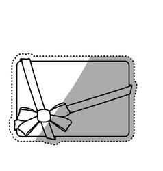 decorative banner emblem vector image
