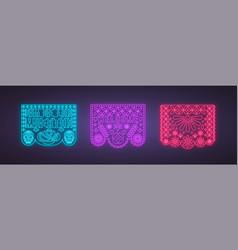 design template for dia de los muertos day vector image