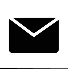 envelope mail icon design vector image