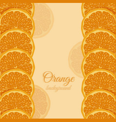Icon orange card vector