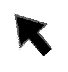 Isolated click cursor vector