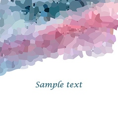 Mosaic background2 vector image