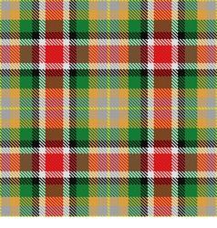 seamless pattern Scottish tartan Alabama vector image