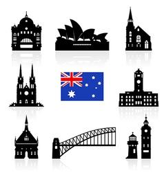 Australia Icon vector image vector image