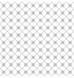 Black trendy italian luxury and stylish pattern vector
