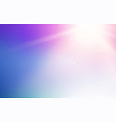 Blue sky and abstract light flash background vector