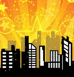 City celebrations vector image