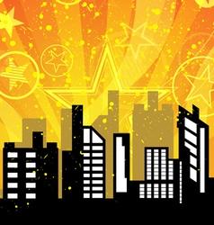 City celebrations vector image