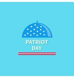 Cloch patriot day Flat design vector