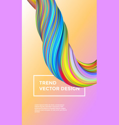 Gradient painting abstract paint background vector