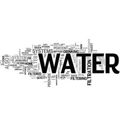 it s not just water under the bridge text vector image