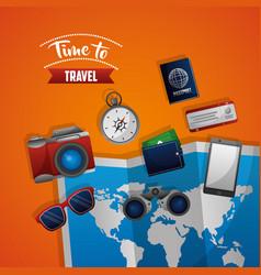 Travel around the word vector