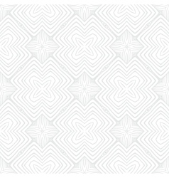 White vintage geometric texture in art deco style vector image